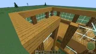 getlinkyoutube.com-Jak zrobić ładny domek z drewna w minecraft