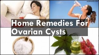 complex ovarian cyst cancer