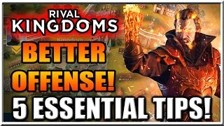 getlinkyoutube.com-Rival Kingdoms Gameplay - 5 Essential Tips for a Better Offensive Raids!