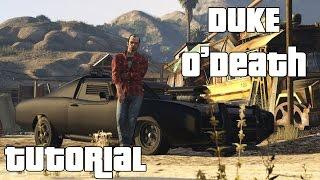 GTA V - PS4 - Come e dove trovare la Duke O' Death!