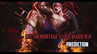 getlinkyoutube.com-Lee Sin Montage #3 Q Q ward W R Predictions