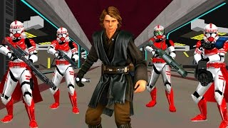 getlinkyoutube.com-✔ Star Wars Battlefront 2 mods: Attack on Venator TCW Star Destroyer
