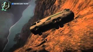 getlinkyoutube.com-Just Cause 2 Car Jumping