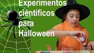 "getlinkyoutube.com-Experimentos científicos 3: ""bomba"" Halloween"