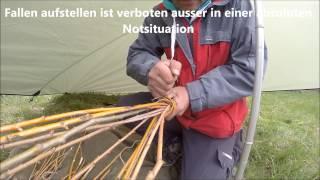 getlinkyoutube.com-Fischfalle bauen  survival Kurse