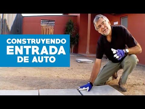 ¿Cómo construir una entrada de auto?