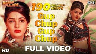 getlinkyoutube.com-Gup Chup Gup Chup - Karan Arjun | Mamta Kulkarni | Alka Yagnik & Ila Arun