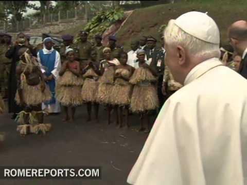 Pope will visit Africa from November 18th to the 20th