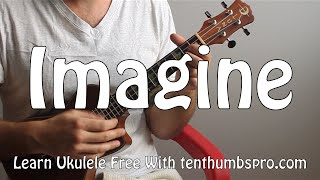 getlinkyoutube.com-Imagine - John Lennon - How to play easy Ukulele beginner song tutorial