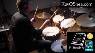 Drum Lesson (flipped vid) - Leading Hand Drum Fills