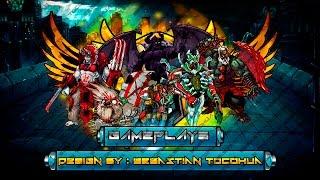 getlinkyoutube.com-Mutants Genetic Gladiators Elements Squad Reactor + Garlog Gameplay