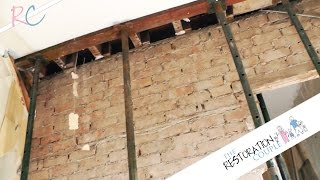 getlinkyoutube.com-Kitchen Renovation 3.0 - Installing Acro Props and Padstones