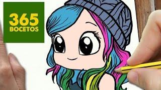 getlinkyoutube.com-COMO DIBUJAR MIRANDA IBAÑEZ KAWAII PASO A PASO - Dibujos kawaii faciles - How to draw Miranda Ibañez