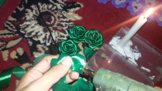 getlinkyoutube.com-Cara Membuat Mawar Bakar (Rose Burn) dari Pita Satin 1 Inch Tutorial By RadistaCraft