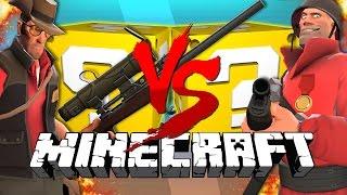 getlinkyoutube.com-Minecraft: TEAM FORTRESS 2 LUCKY BLOCK CHALLENGE | Turret Destruction!