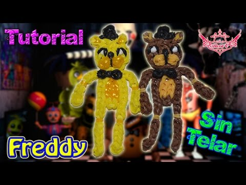 ♥ Tutorial: Freddy de gomitas de Five Nights at Freddy's (sin telar) ♥