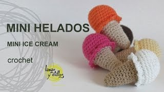 getlinkyoutube.com-Tutorial Mini Helado Amigurumi Mini Ice Cream