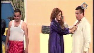 getlinkyoutube.com-Zara Hutt ke New Pakistani Stage Drama Full Comedy Show 2016