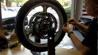 getlinkyoutube.com-No-Mar Motorcycle Tire Balancer