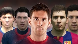 getlinkyoutube.com-Lionel Messi From FIFA 06 to 15
