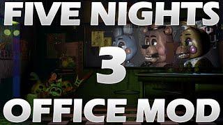 getlinkyoutube.com-[FNAF MOD] Five Nights at Freddy's 2-3 (FNAF 2-3) Office Mod Gameplay