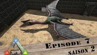 getlinkyoutube.com-ARK / Survival Evolved / Episode 7 / Saison 2 / On tame le quetzal