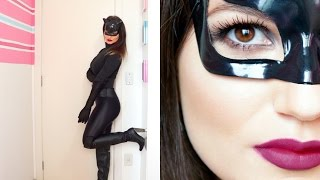 DIY | Fantasia e Maquiagem Mulher Gato