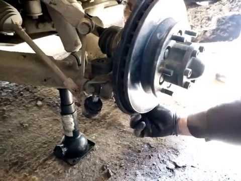 Демонтаж привода переднего моста Hover H3