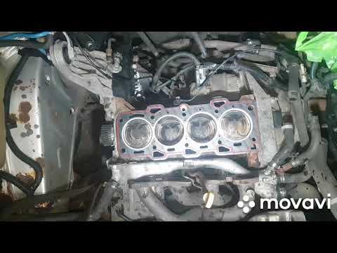 Alfa Romeo 146 1.4ts. Досборка головы и установка на блок.