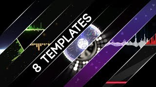 Free After Effects CS6+ Audio Visualization Templates