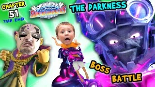 getlinkyoutube.com-Kaos & Chase Defeat THE DARKNESS! Lets Play SKYLANDERS SUPERCHARGERS Chapter 51: FINAL BOSS BATTLE