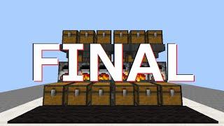 Minecraft 好きなだけ拡張可能!木炭循環かまどFINAL
