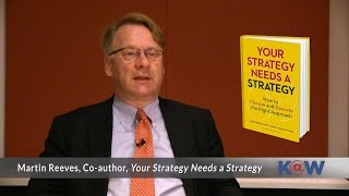 2/2 Your Strategy Needs a Strategy