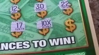 "getlinkyoutube.com-$20 Scratcher Winner - ""10X Symbol"" is it $5M?"