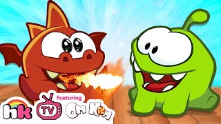 getlinkyoutube.com-Om Nom Stories: Dragon Warrior | Om Nom Season 4: Magic | Funny Cartoons | HooplaKidz TV