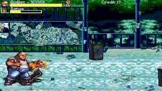 OpenBoR games: Streets of Rage Russia (v2) re-playthrough