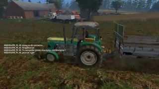 getlinkyoutube.com-Farming Simulator 15 S9E6 Multiplayer - Ładujemy Obornik Koparką !