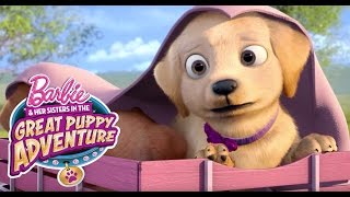 getlinkyoutube.com-Puppy Platoon Stashes Away   Barbie & Her Sisters in a Great Puppy Adventure   Barbie
