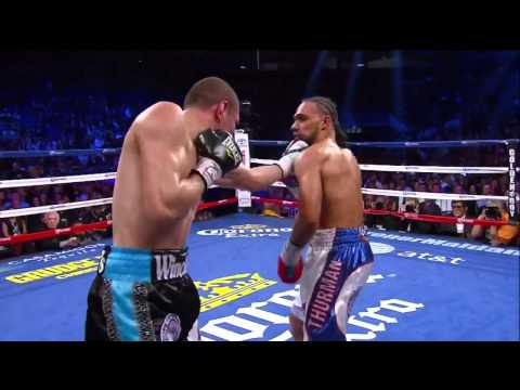 Keith Thurman Knocks Down Jesus Soto Karass - SHOWTIME Boxin
