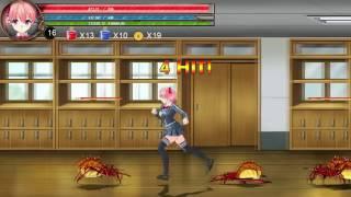 getlinkyoutube.com-[Ryona] Fighting girl Sakura-R Stage 1