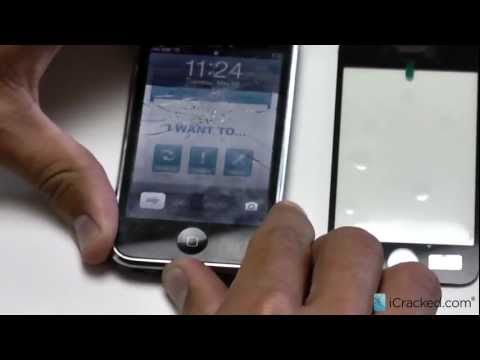 Official iPhone 3G / 3GS Screen / Digitizer Repair and Replacement Video - iCracked.com