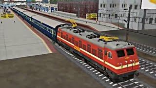 getlinkyoutube.com-Indian Train Simulator - Express Mode - Jaipur AC Special - Anand to Ratlam (Android Game)
