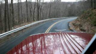 getlinkyoutube.com-Peterbilt 359 Jake Brake Down Hill