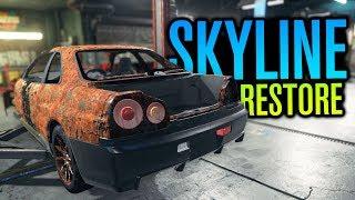Nissan Skyline R34 GTR RESTORATION?!