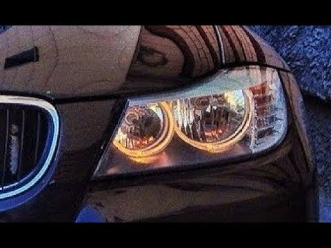 Замена лампы габаритов BMW e90 rest