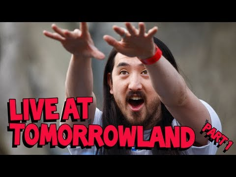 Steve Aoki LIVE at Tomorrowland Part 1/2
