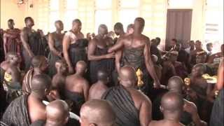 getlinkyoutube.com-Swearing of Oath of Allegiance at Manyhia Palace