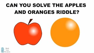 getlinkyoutube.com-Can You Solve The Apples And Oranges Riddle? The Mislabeled Boxes Interview Question