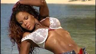 getlinkyoutube.com-Roniquie Banks beautiful Black Swimsuit Mag,bikini fitness model test Shoots w/ Rob Sims at Hedo 2