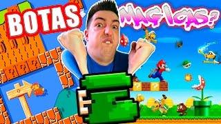 getlinkyoutube.com-BOTAS MAGICAS?   Super Mario Maker